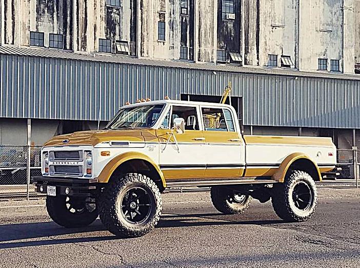 Rtech Fabrications Duke 1972 Chevy C50