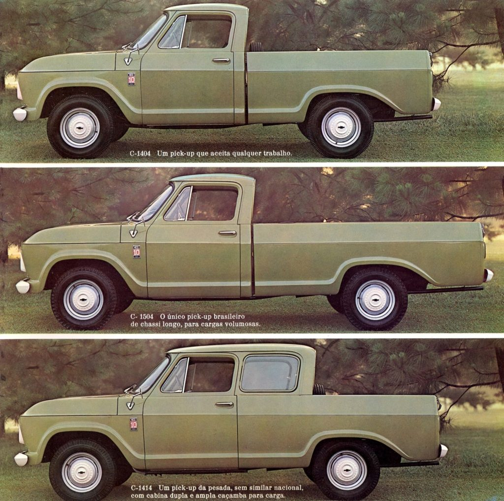 South American Chevy C10 Pickup | GM