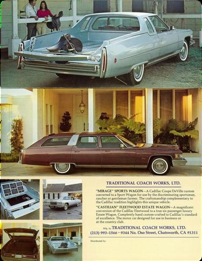 1973 Cadillac Mirage Pickup