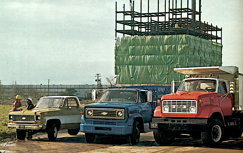 1973 Chevy Truck Lineup | GM