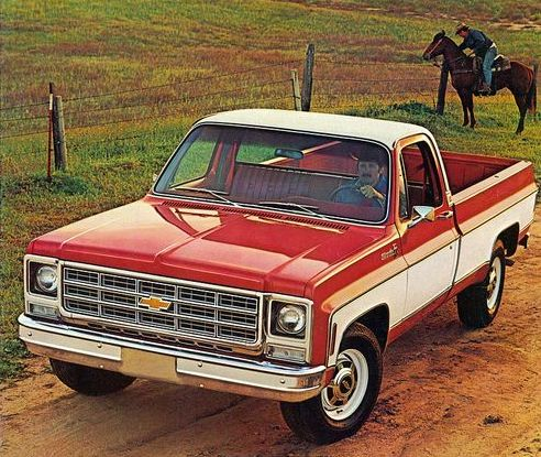 New In 1973 It's Ford F-100 vs. Chevy C10