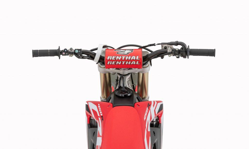 2020 Honda CRF450R dirt bike Handlebars