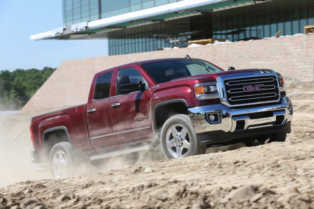 The 2015 GMC Sierra 2500 HD