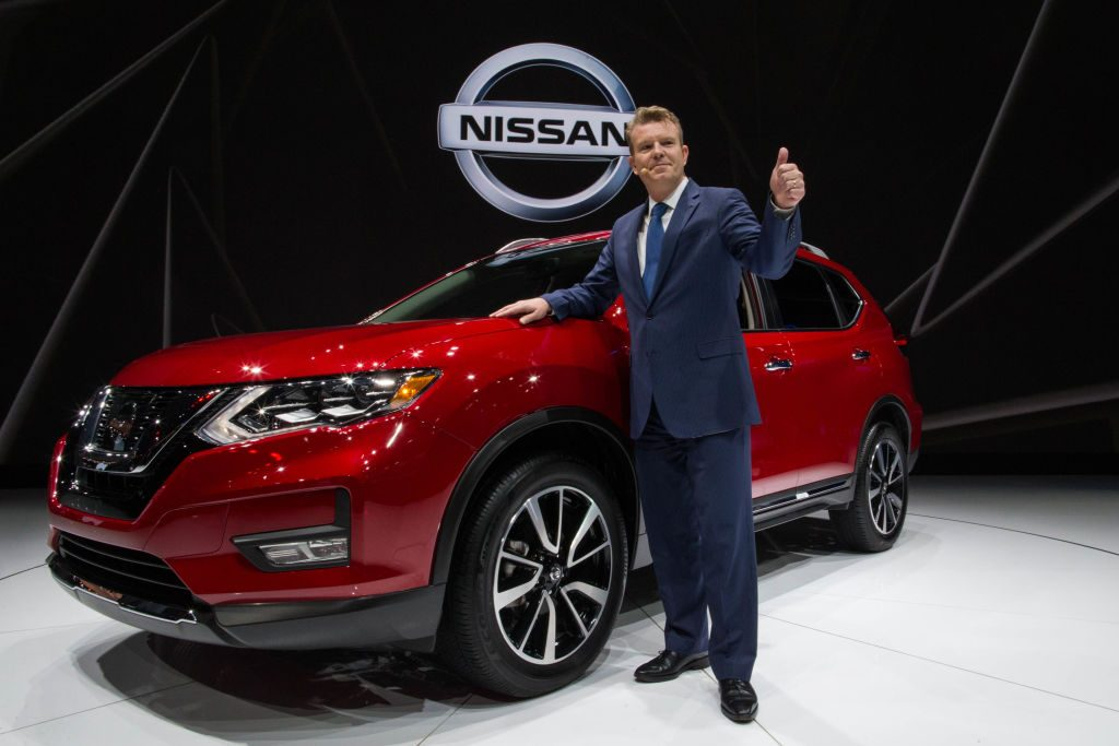 Christian Meunier, chairman of Nissan Canada, speaks about the 2018 Nissan Rogue