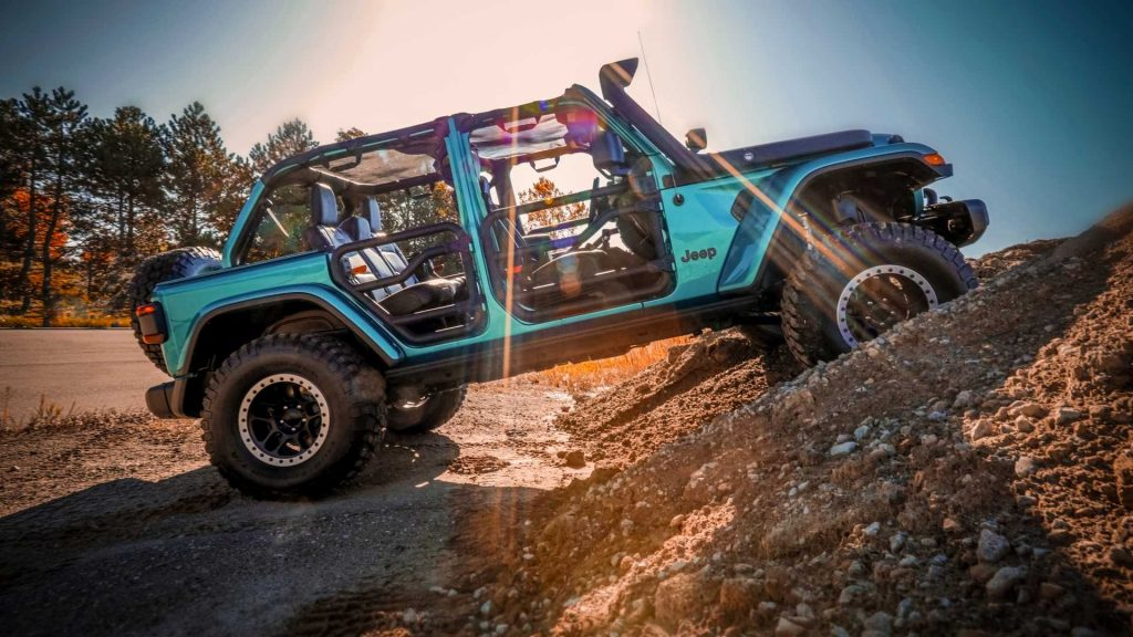 2019 Sema Jeep Wrangler Concept | FCA