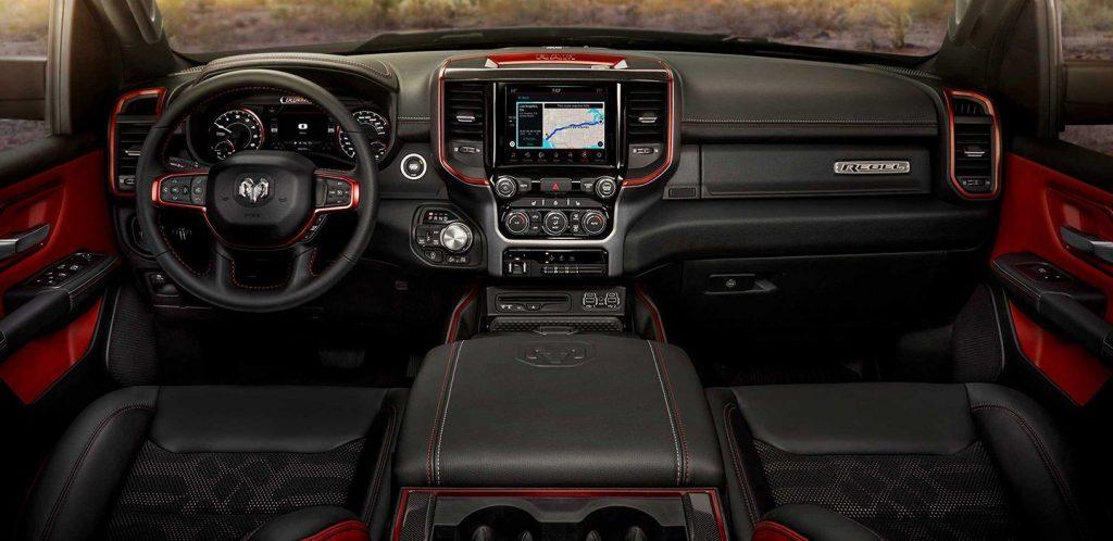 2019 Ram 1500 Rebel interior
