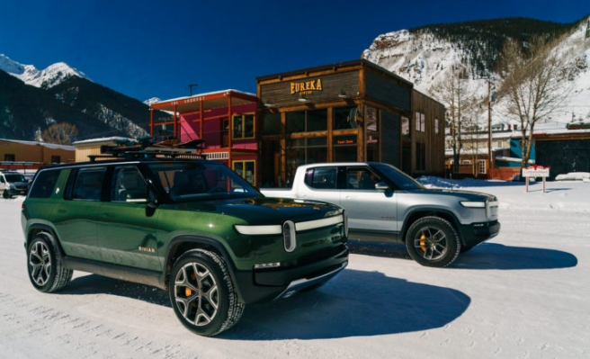 Rivian Truck and SUV