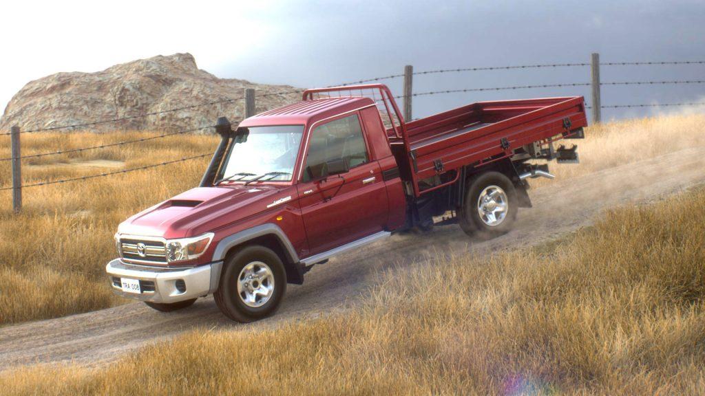 2020 Toyota Land Cruiser 70 Pickup | Toyota-001