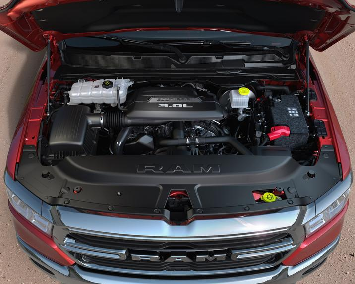 2020 Ram 1500 EcoDiesel engine bay