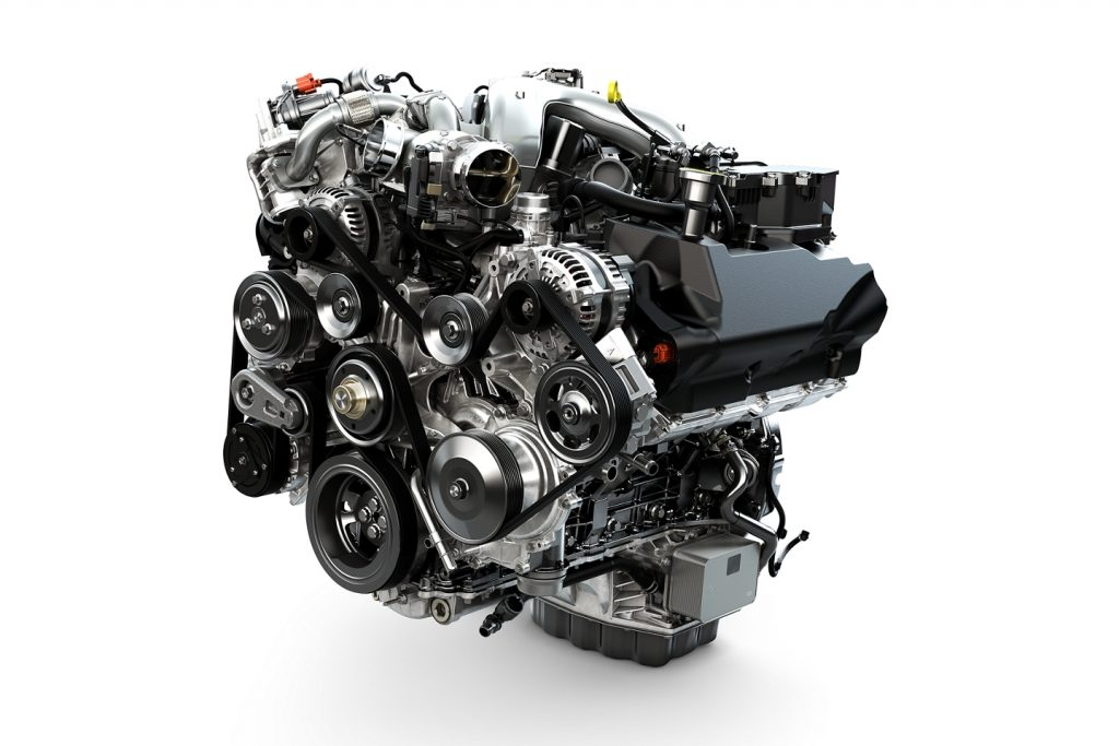 2020 Ford F-Series Super Duty Engine