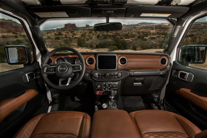 2019 Jeep Gladiator JT Scrambler interior