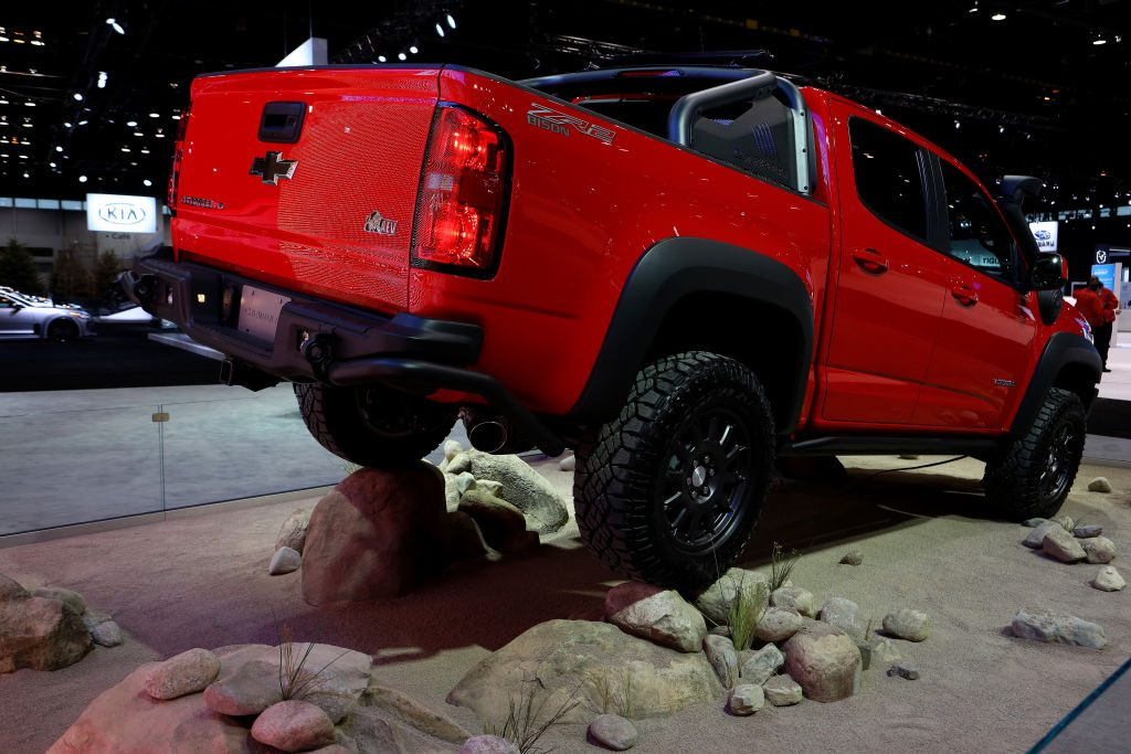 2019 Chevrolet Colorado ZR2 Bison on display at the 111th Annual Chicago Auto Show | Raymond Boyd/Getty Imag