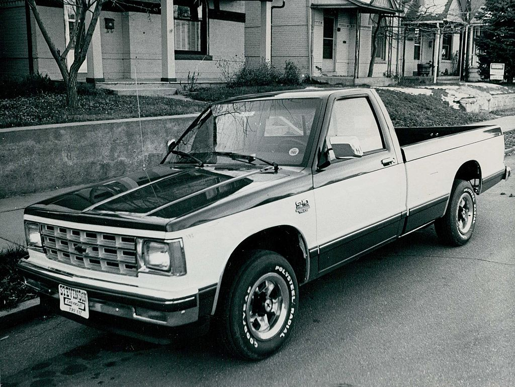 When Did Chevy Stop Making The S10 Pickup Truck