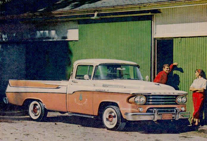 Dodge Sweptside Pickup | FCA
