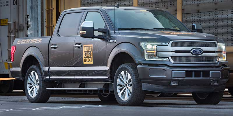 Ford F150 Electric Prototype-001