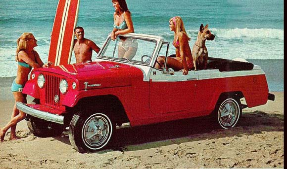 1967 Jeep Commando printed ad