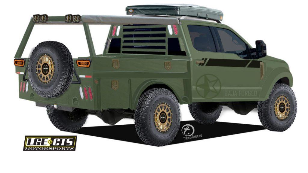 LGE-Super Duty 2019 SEMA Ford Truck | Ford