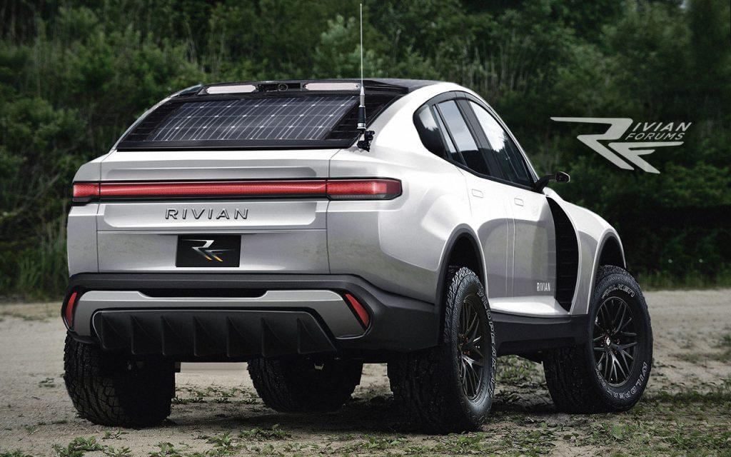 Rivian Rally EV render