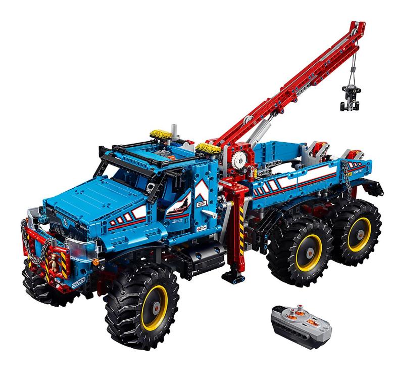 2019 Lego 6x6 All Terrain Tow Truck