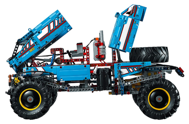 2019 Lego 6x6 All Terrain Tow Truck Rescue Vehicle