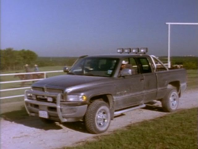 Walker Texas Ranger 1994 Dodge Truck