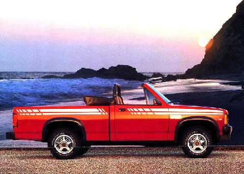 1989 Dodge Dakota Convertible Pickup | FCA
