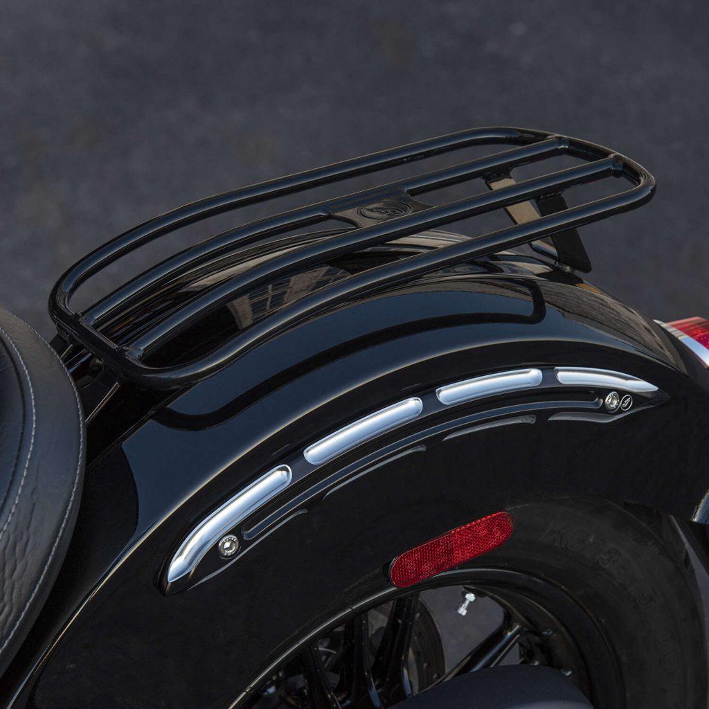 Indian Motorcycle Solo Luggage Rack