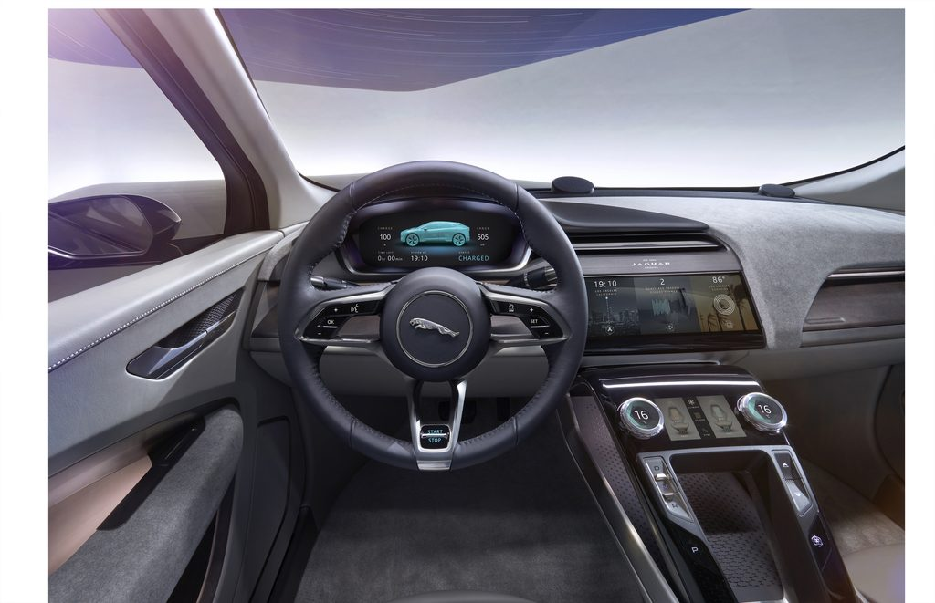 Jaguar I-Pace EV Interior