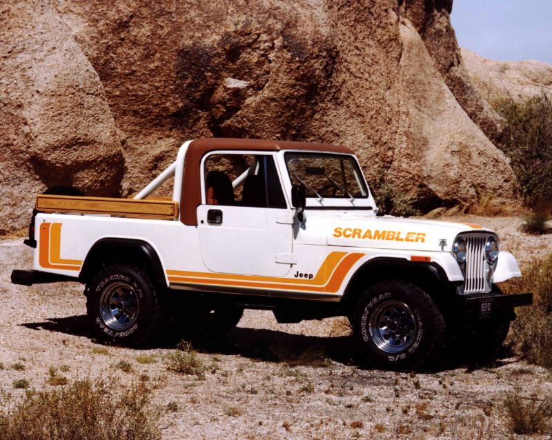 Jeep CJ8 Scrambler