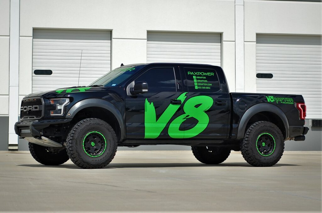 PaxPower V8 Ford F-150 Raptor