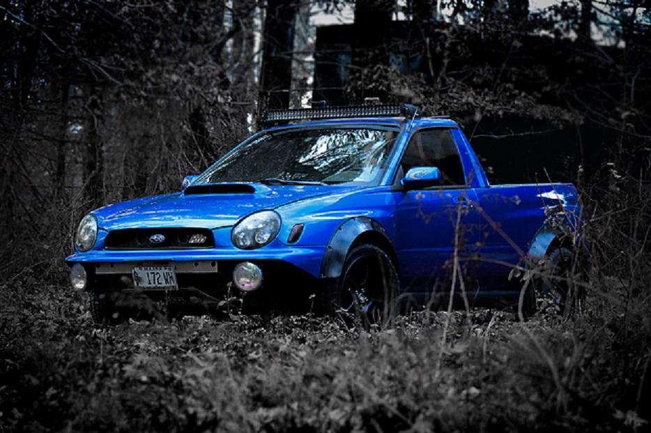 "Subaru Impreza WRX ""Subarute"" Smyth Performance truck conversion"