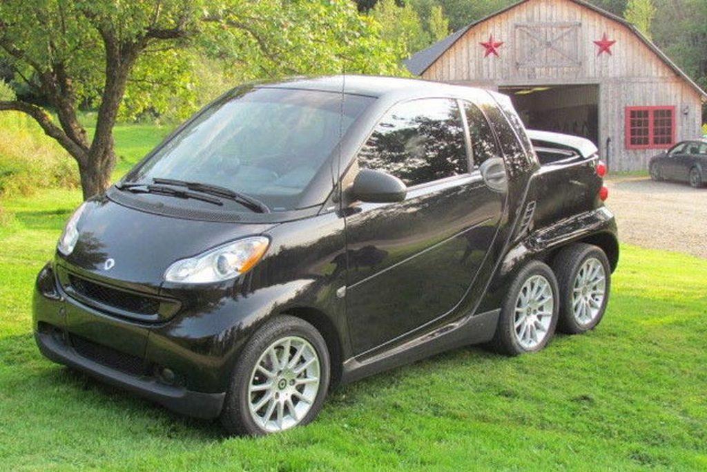 Smart Fourtwo 6-Wheeled pickup