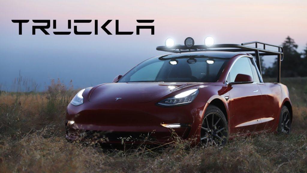 "2019 Tesla Pickup ""Truckla"""