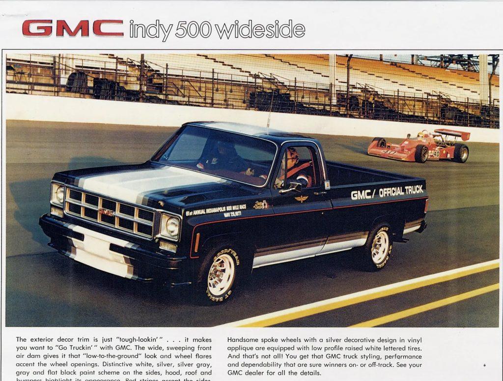 1977 GMC Indy 500