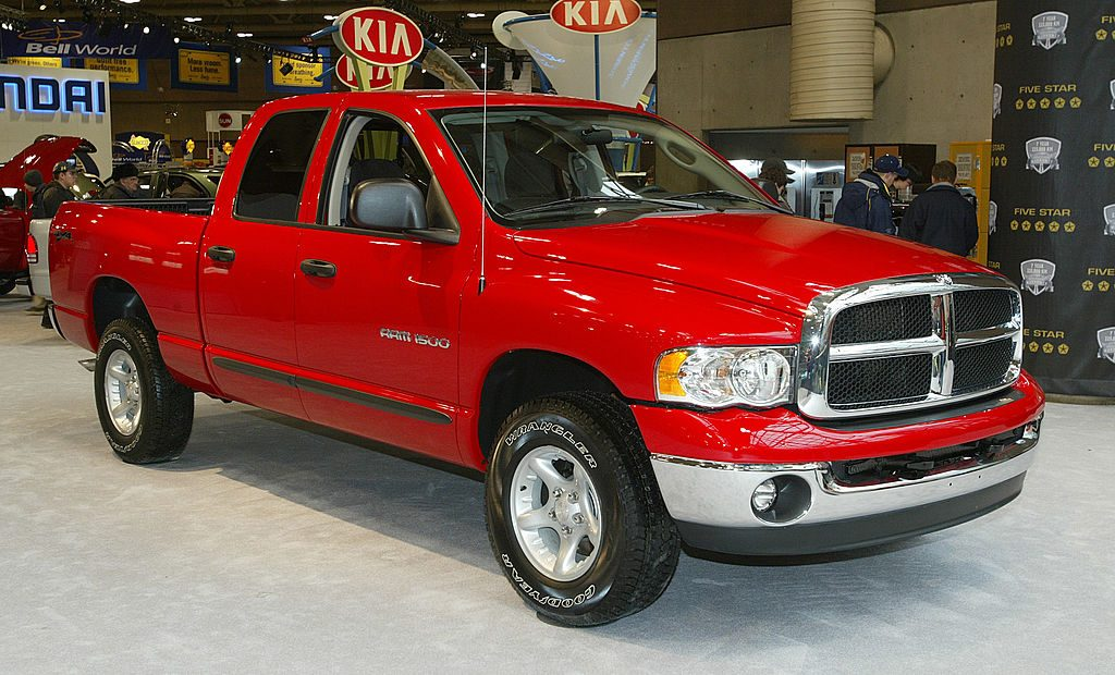 Dodge Ram 1500 SLT Quad Cab 4 x4 at the 2003 Canadian International Auto Show