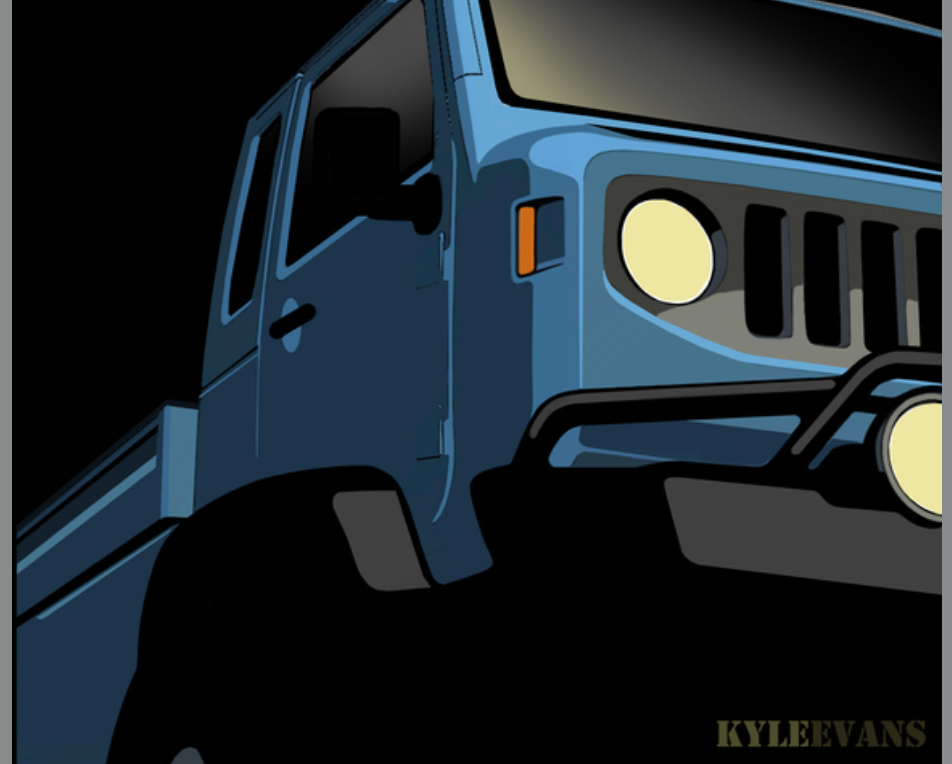 2013 Mighty FC Jeep | FCA-00