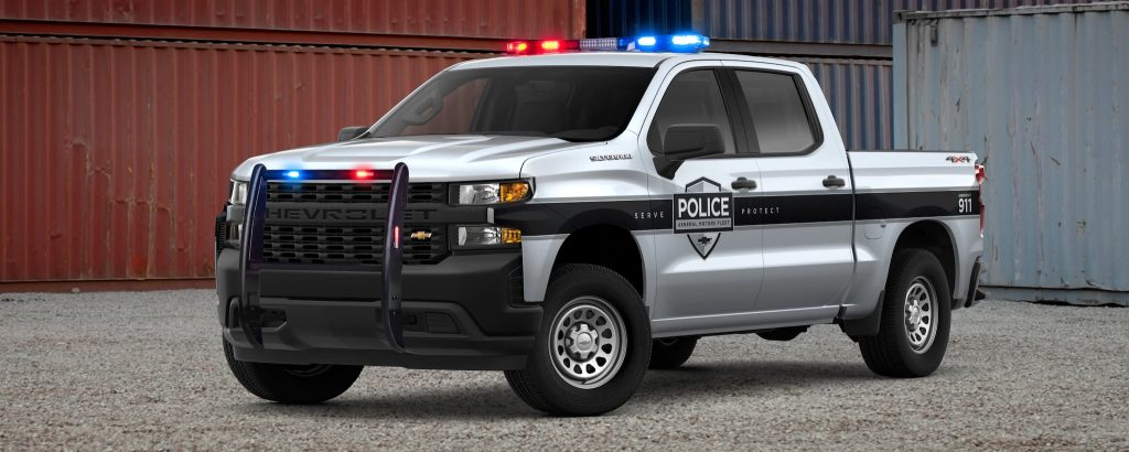 2019 Chevrolet Silverado SSV police pickup