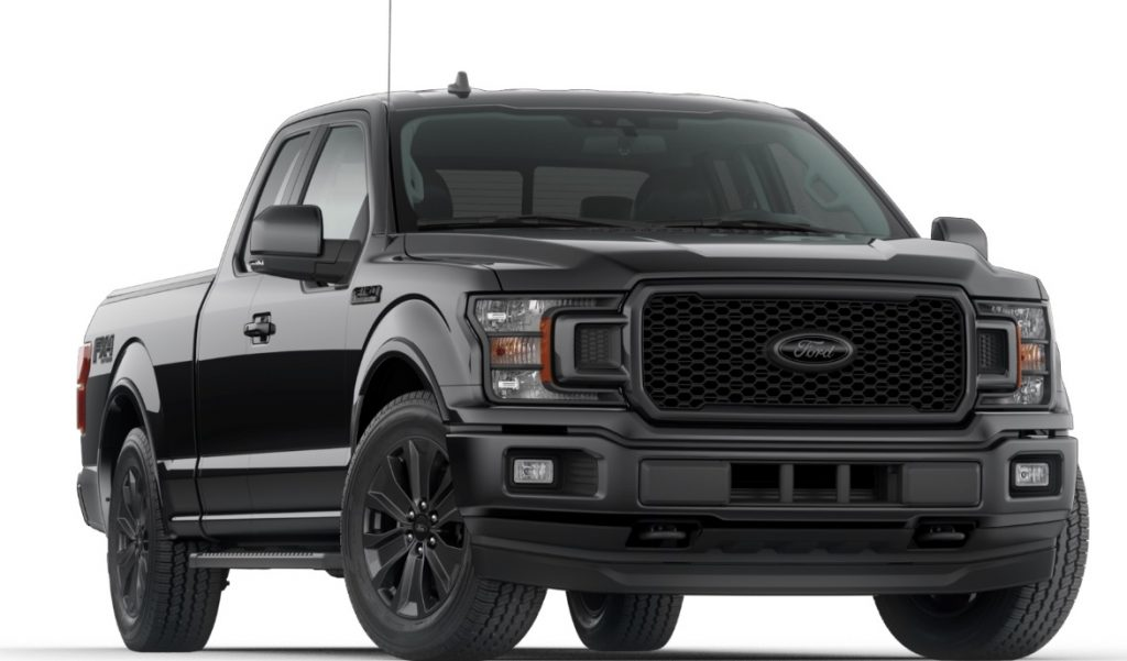 2020 Ford F-150 SuperCrew Lariat with Black Lariat Appearance Package