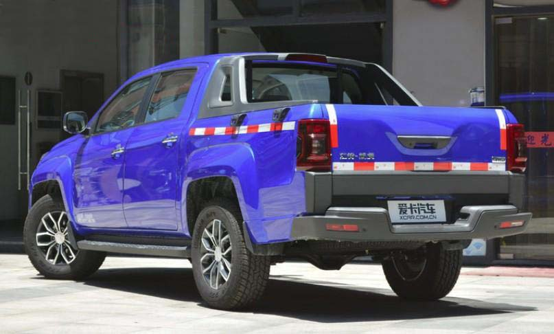 2020 JMC Tiger Pickup China | JMC-00