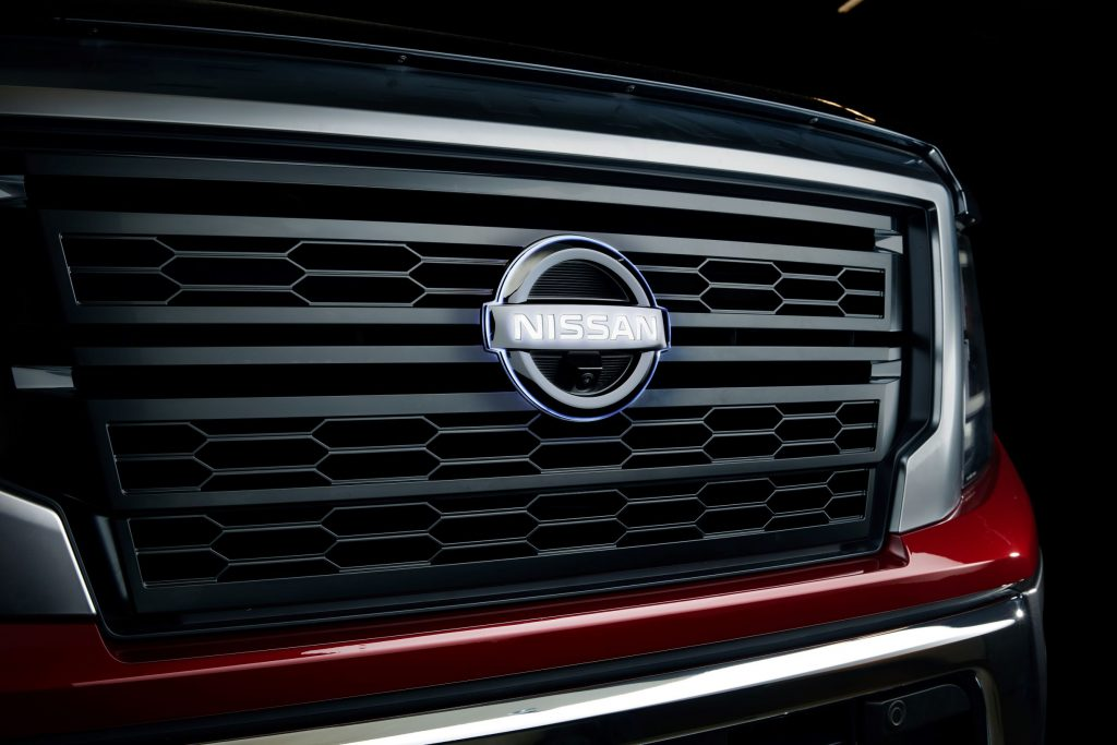2020 Nissan Titan with Nissan Accessories