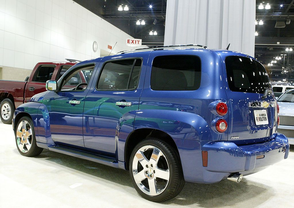 2006 Blue Chevrolet HHR
