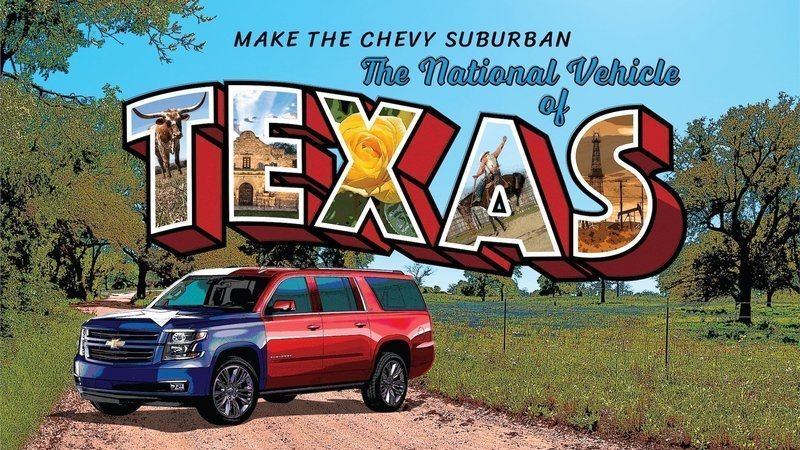 Chevy Suburban National Vehicle of Texas