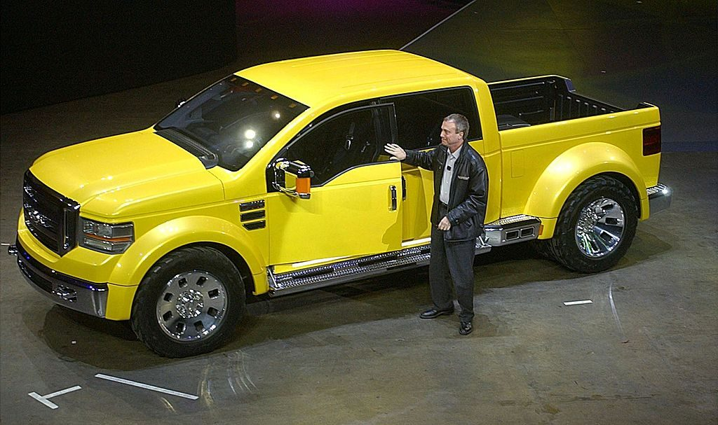 Ford debuting it's Tonka Special Edition truck.