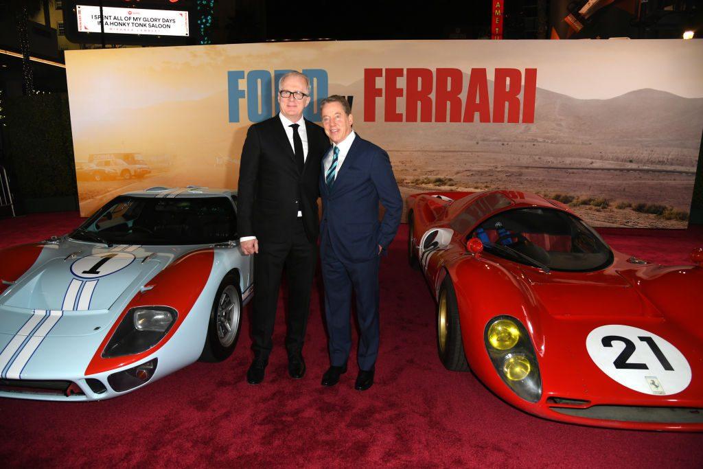 The Ford vs Ferrari red carpet premiere