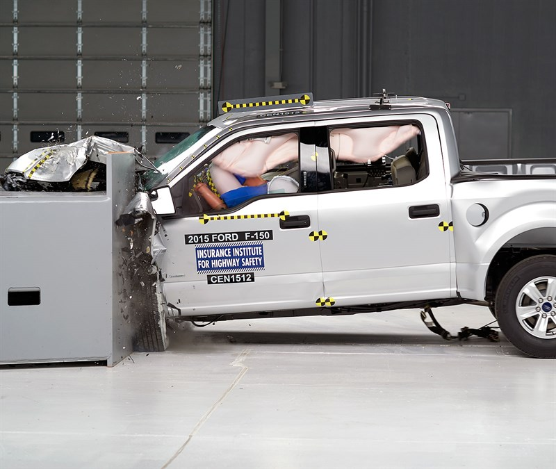 IIHS Crash Test Ford F-150 | IIHS