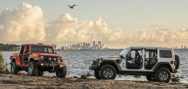 2020 Jeep Gladiator and Wrangler Three O Five Editions