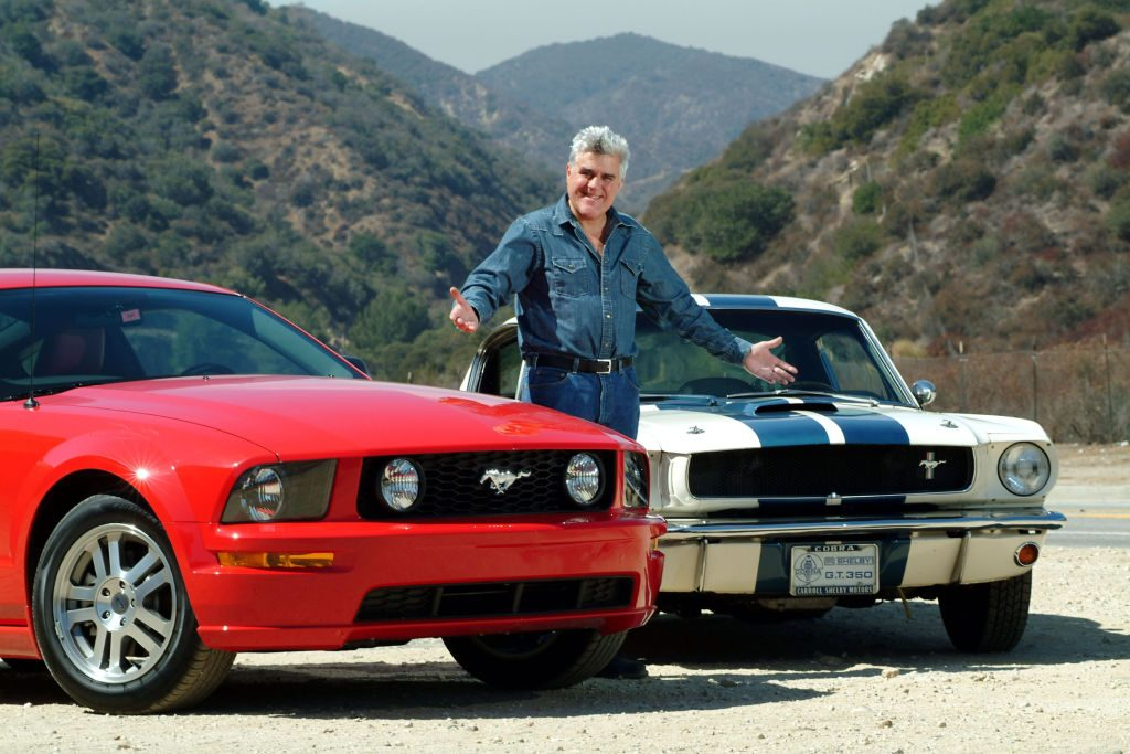 Jay Leno road tests a 2005 Shelby Mustang GT