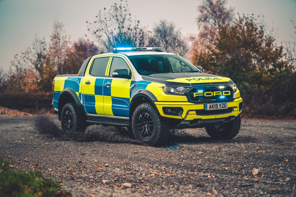 Ford Ranger Raptor European Police Car