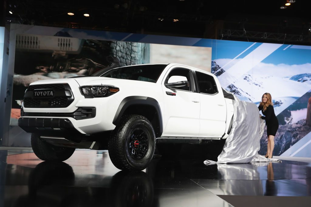 Toyota introduces the Tacoma TRD Pro at the Chicago Auto Show