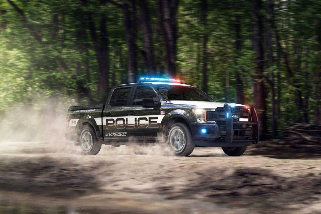 Ford F-150 Police Responder police pickup